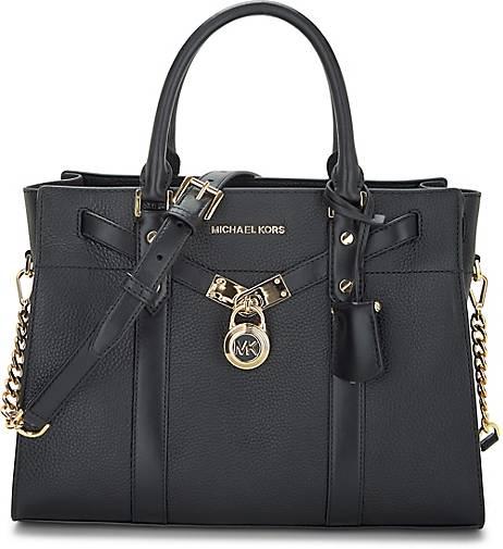 Michael Kors Handtasche schwarz mit gold