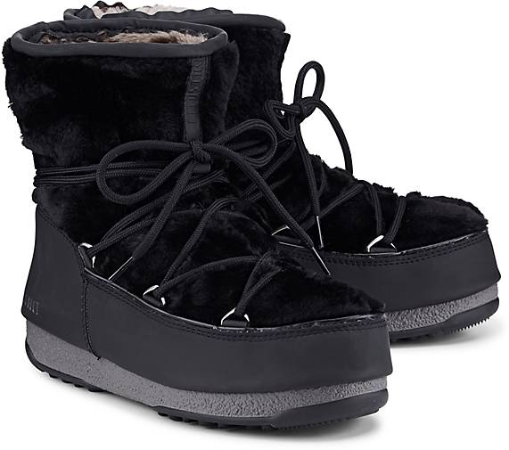 Moon Boot Boots MONACO LOW FUR