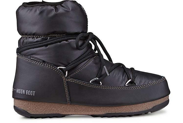 Moon Boot Bequeme Schuhe Für Damen Stiefel Schwarz