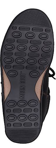 Moon Stiefel Moon Stiefel LOW NYLON in schwarz Schuhe kaufen - 45885101 GÖRTZ Gute Qualität beliebte Schuhe schwarz 6e3804