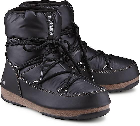 611dcefc6f671 Moon Boot Moon Boots LOW NYLON in schwarz kaufen - 45885101   GÖRTZ