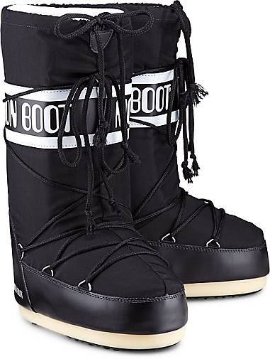 brand new 291b3 59f3f Moon Boots NYLON