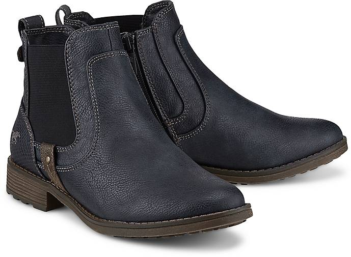 Mustang Chelsea-Boots in blau-dunkel GÖRTZ kaufen - 47550302 | GÖRTZ blau-dunkel 870858