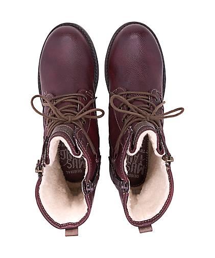 Mustang Schnür-Stiefel in bordeaux kaufen kaufen kaufen - 46537701 | GÖRTZ Gute Qualität beliebte Schuhe c18ce7