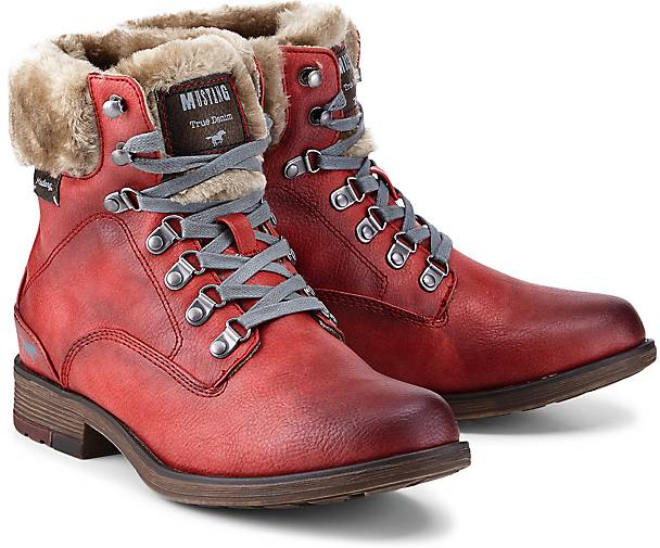 de837d157e0c7c Mustang Winter-Boots in bordeaux kaufen - 47837101