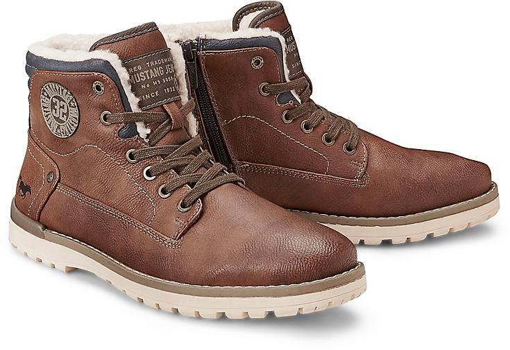 Mustang Winter-Boots 44790901 in braun-mittel kaufen - 44790901 Winter-Boots | GÖRTZ Gute Qualität beliebte Schuhe ebf841