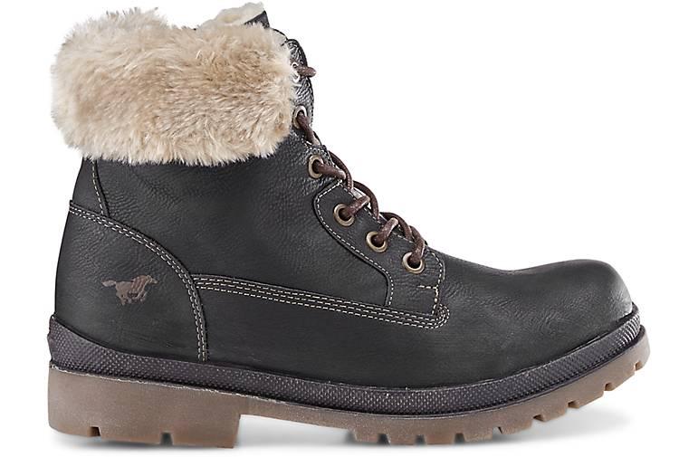 e02fdffb8b4b ... Boots Mustang grau Winter Boots grau Winter dunkel dunkel Mustang  ntIYtq ...