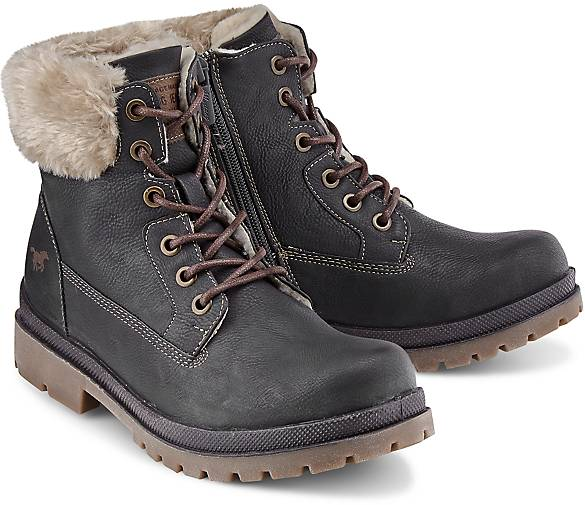 433f64500a9b84 Mustang Winter-Boots in grau-dunkel kaufen - 46771201