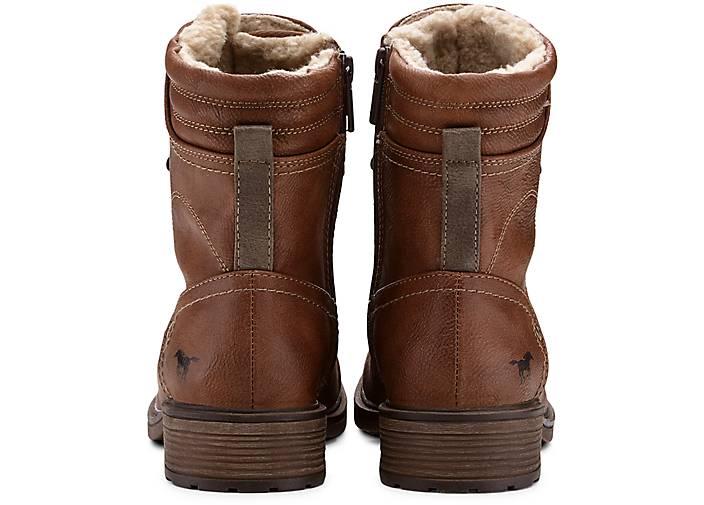 Mustang Winter-Schnürstiefel in braun-mittel kaufen kaufen kaufen - 47550701 GÖRTZ Gute Qualität beliebte Schuhe 22f64f