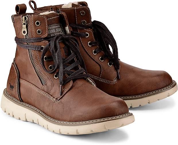 Winterstiefel Boots Kaufen In mittel Mustang Braun Winterstiefelette N0vm8Onw