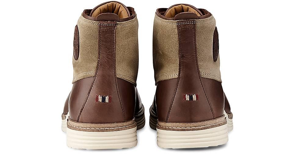 Napapijri Schnür-Boots EDMUND in braun-dunkel kaufen - 46656501 beliebte | GÖRTZ Gute Qualität beliebte 46656501 Schuhe 465b3a