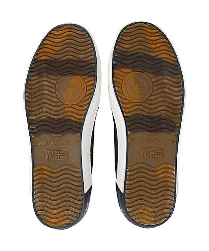 Napapijri Sneaker JAKOB in grau-dunkel kaufen - 47408102 | Schuhe GÖRTZ Gute Qualität beliebte Schuhe | 8f081b