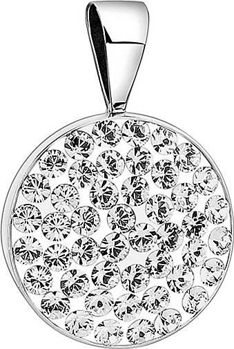 Nenalina Anhänger Kreis Geo Kristalle Funkelnd 925 Silber