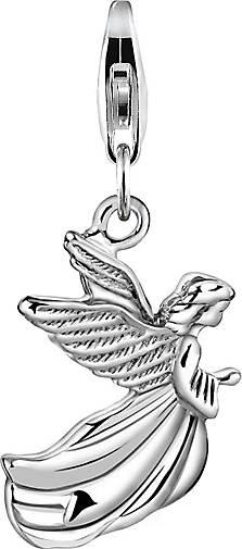 Nenalina Charm Engel Anhänger Flügel Religion Talisman 925 Silber