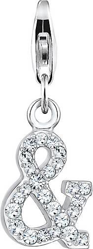 Nenalina Charm Zeichen Symbol Kristalle 925 Silber