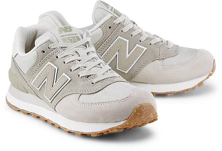 sneaker new balance damen beige