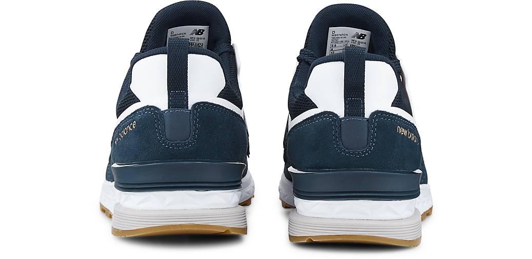 New Balance Retro-Turnschuhe 574 in blau-mittel kaufen - - - 47518302 GÖRTZ Gute Qualität beliebte Schuhe 73b1ed