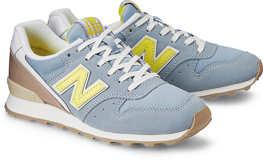 New Balance 996 Blau Gold