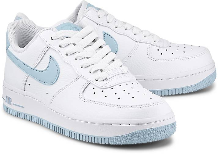 nike air force weiß mit blau