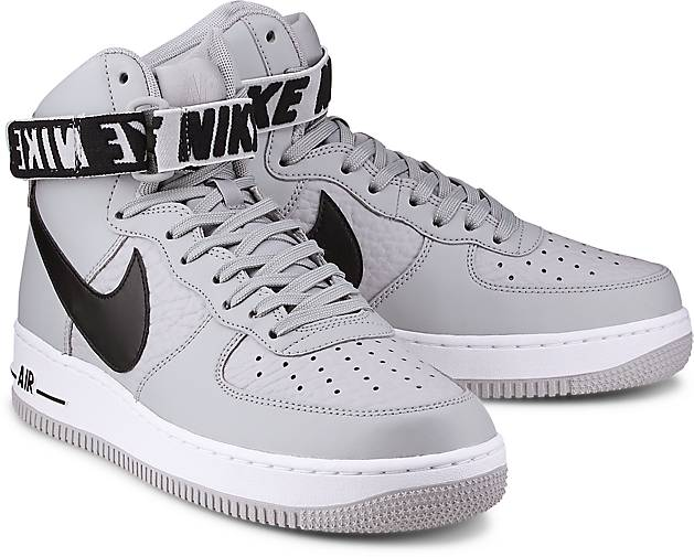 nike air force 1 high grau