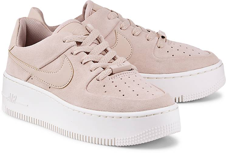 nike air force rosa weiß