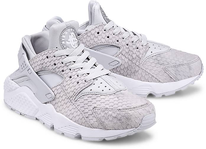 Günstiges Online-Shopping Rabatt Manchester Großer Verkauf Nike Air Huarache  Run Prm Grau-Hell 56328d077b