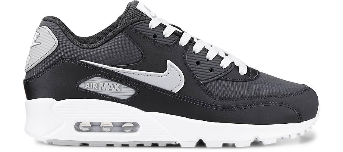 Nike Synthetik AIR MAX 90 ESSENTIAL, grau dunkel Synthetik