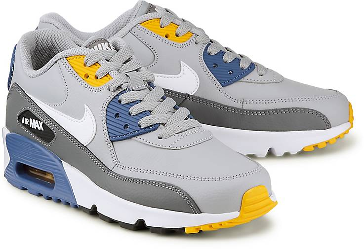 sports shoes 994a4 898cf Nike AIR MAX 90 LEATHER GS in grau-hell kaufen - 48038101 | GÖRTZ