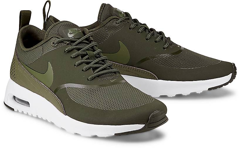 nike air max thea olive damen laufschuhe kostenloser versand. Black Bedroom Furniture Sets. Home Design Ideas