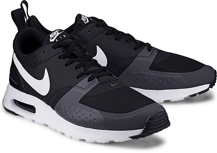 AIR MAX VISION - Sneaker low - black/white