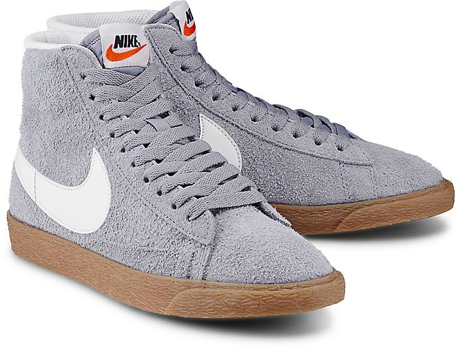 Nike Blazer Mid Vintage Grau