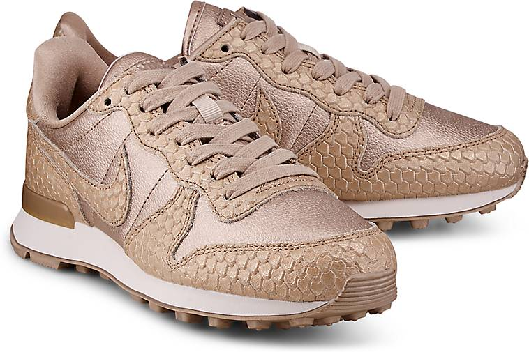 nike internationalist damen gold