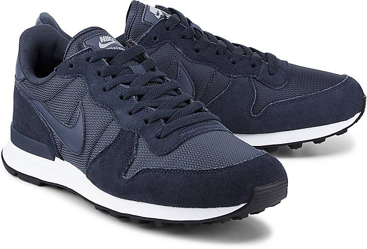 blau nike internationalist damen