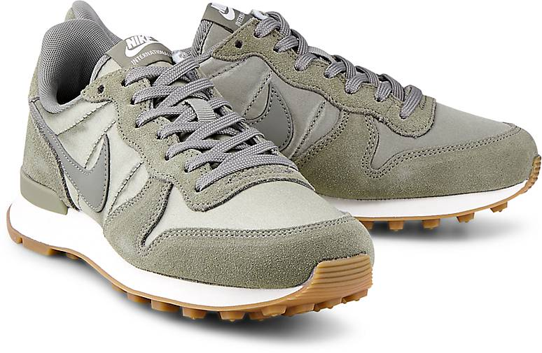 official photos 74ca7 5fee0 free shipping nike internationalist damen beige grün b8a5d 84917