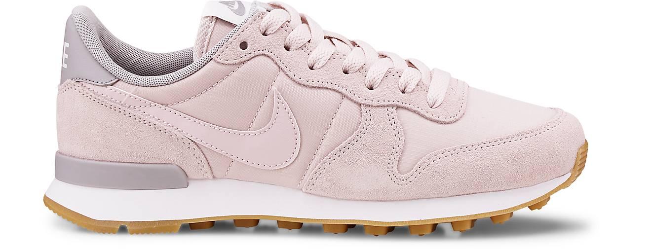 nike sportswear internationalist sneaker low rosa