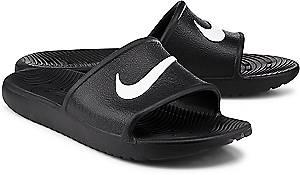 Nike, Kawa Shower Slide in schwarz, Sandalen für Herren
