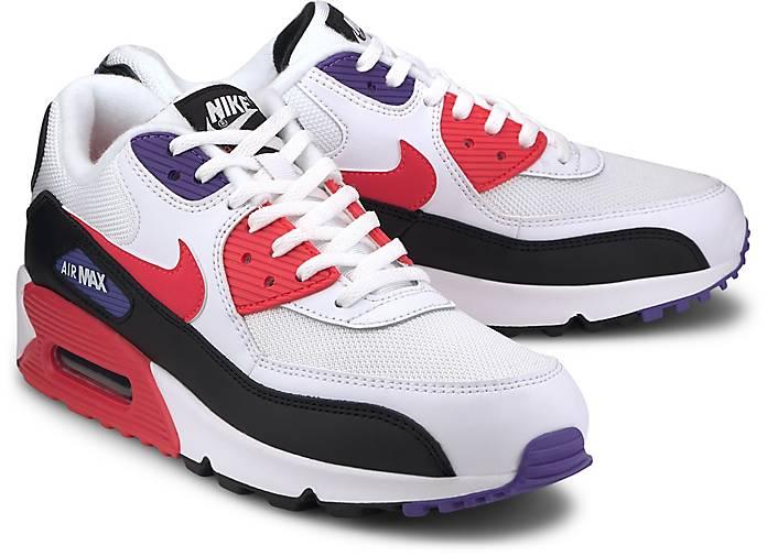 Nike Sportswear AIR MAX 90 Sneaker white weiss | Wie fallen