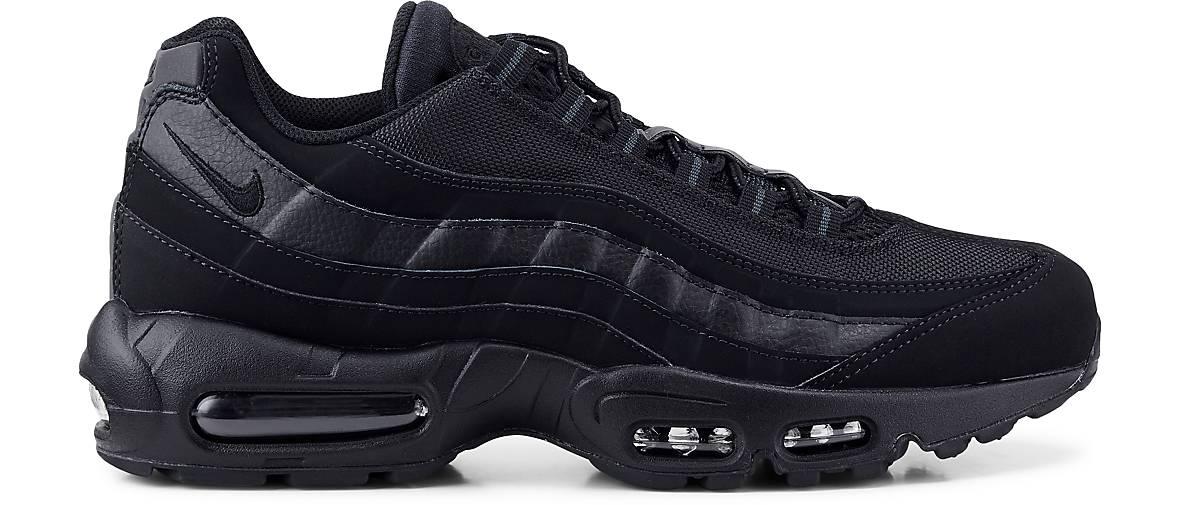 NIKE WMNS AIR Max 95 Leather weiß Damen Low Top Leder Sneakers Turnschuhe NEU