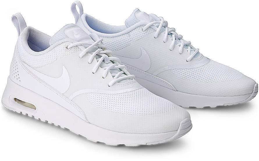 Nike Schuhe Damen Weiß Gold augmented reality