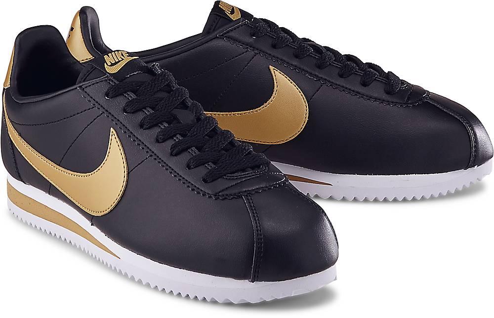 Nike, Sneaker Cortez in schwarz, Sneaker für Damen Gr. 38