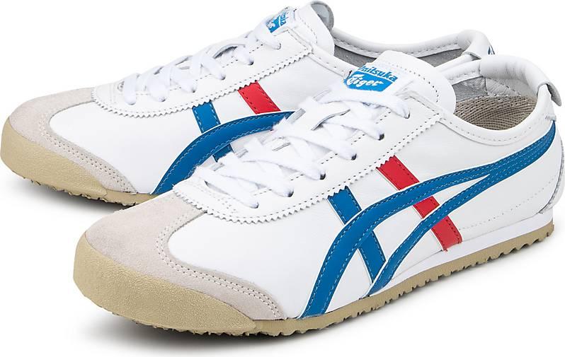 onitsuka tiger mexico 66 sneaker low white blue