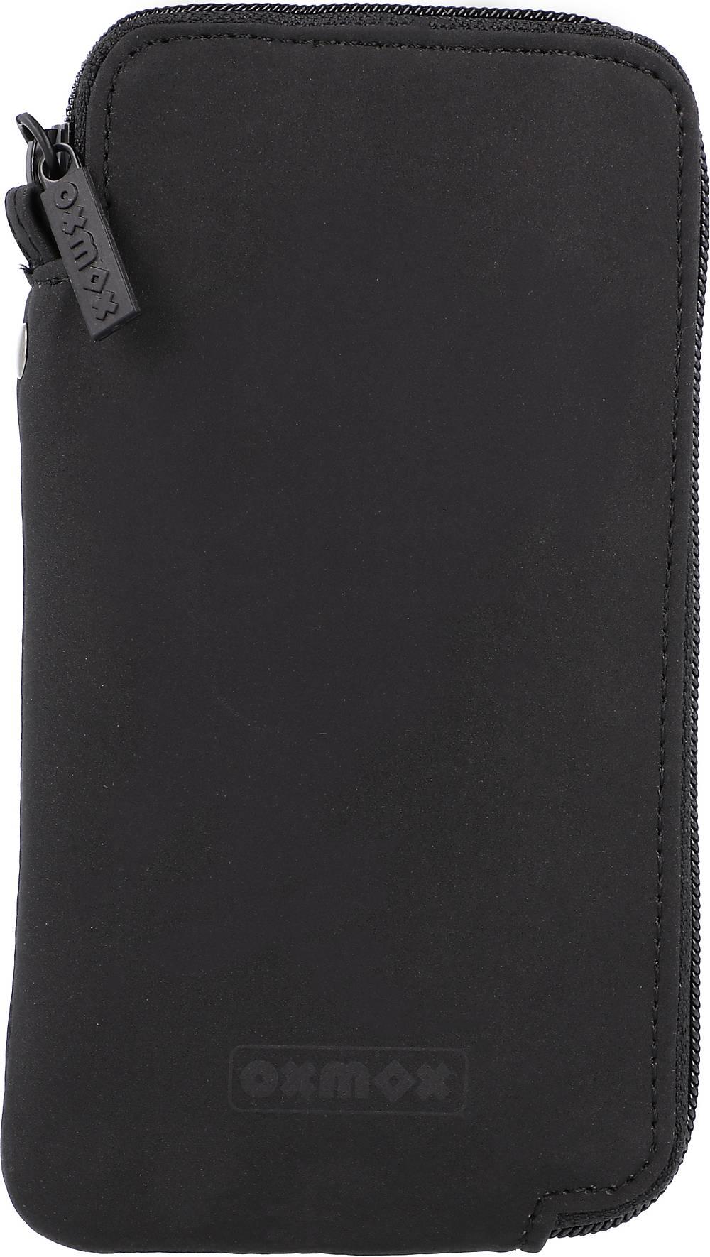 Oxmox, New Cryptan Handytasche 18 Cm in schwarz, Handyhüllen & Zubehör für Damen