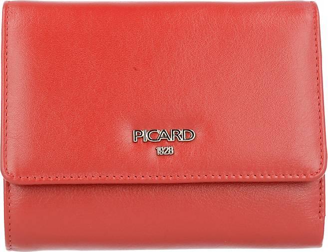 PICARD Bingo Geldbörse Damen Leder 12,5 cm
