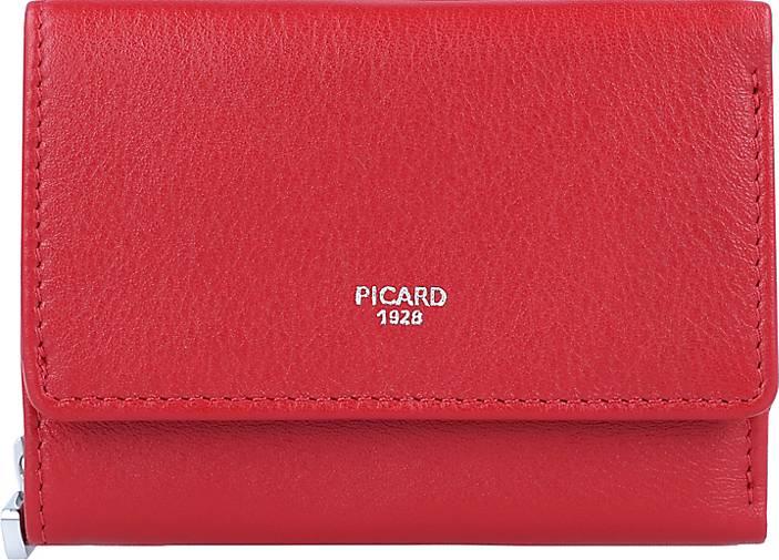PICARD Bingo Geldbörse Leder 10 cm