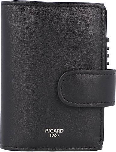 PICARD Bingo Kreditkartenetui RFID Leder 7 cm