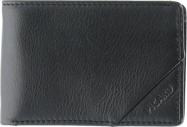 PICARD Soft Safe Geldbörse RFID Leder 10 cm