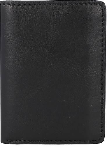 Picard Melbourne Geldbörse Geldbeutel Portemonnaie Leder 8 cm schwarz
