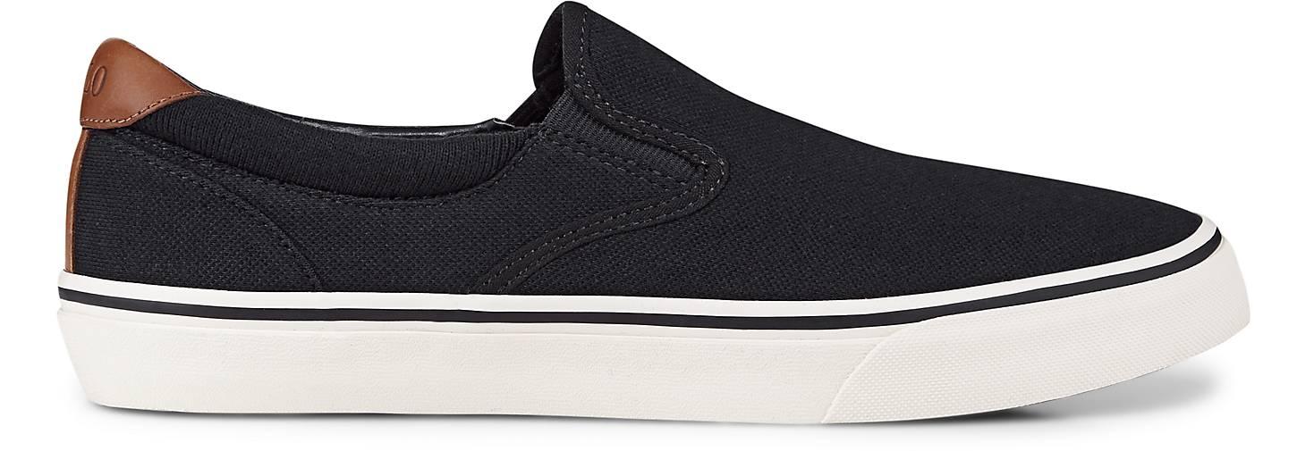 POLO Ralph Lauren Slipper THOMPSON in schwarz kaufen | - 47243302 | kaufen GÖRTZ Gute Qualität beliebte Schuhe e9a130