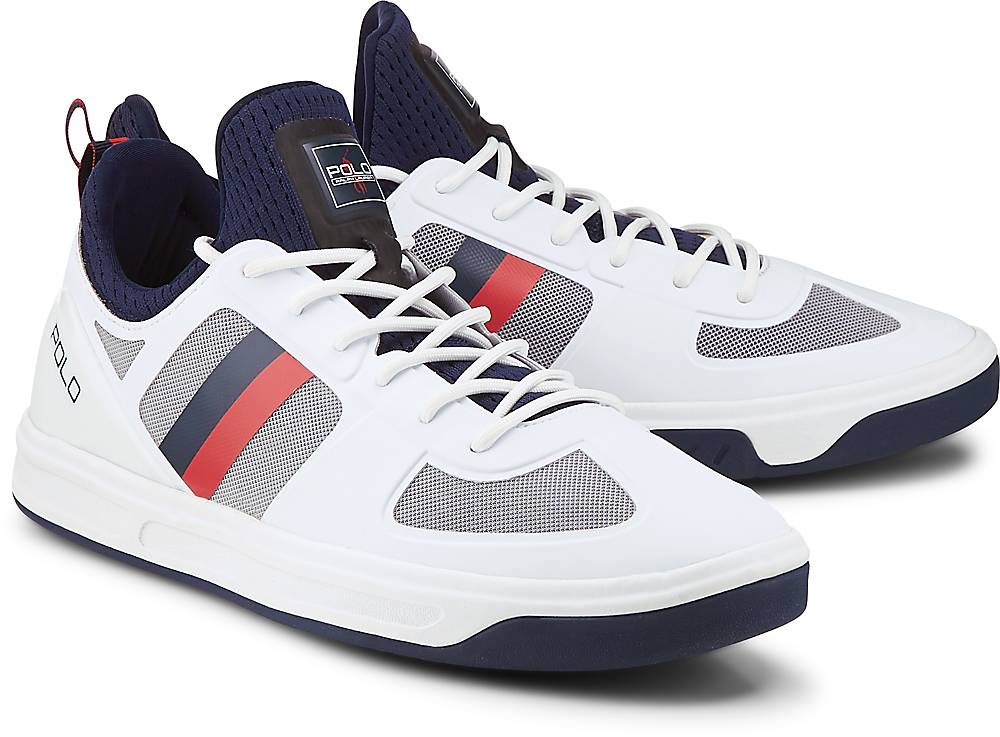 Sneaker Court 200 von POLO Ralph Lauren in weiß für Herren. Gr. 40,43 Preisvergleich