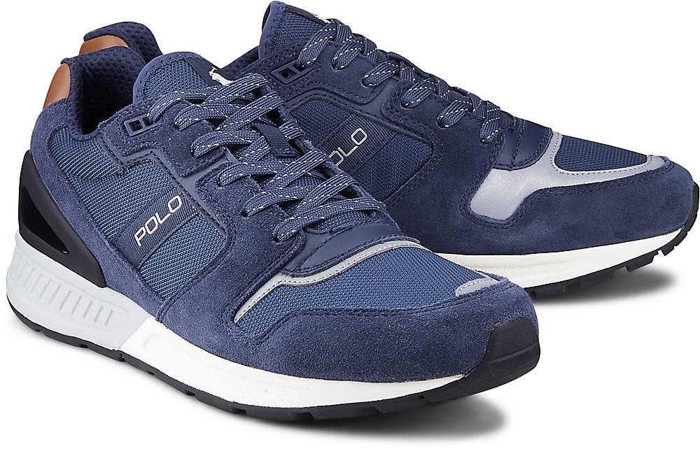 Sneaker Train 100 von POLO Ralph Lauren in blau für Herren. Gr. 41,42,43,44,46 Preisvergleich